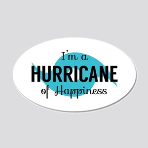 Hurricane of Happiness Wall Decal