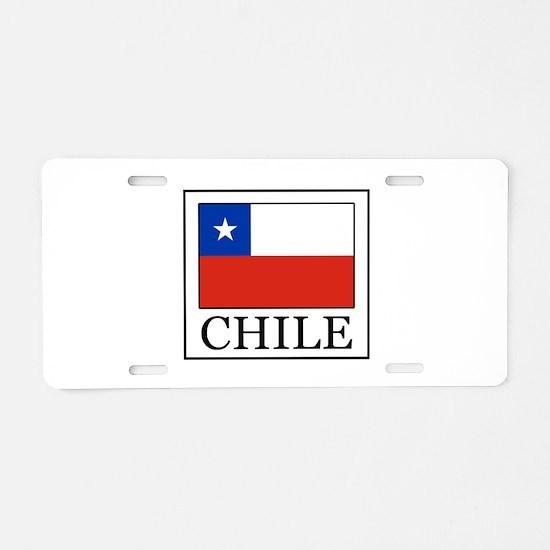 Chile Aluminum License Plate