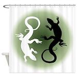 Lizard Art Shower Curtain