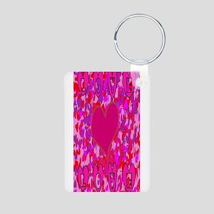Hearts Love Pe Keychains