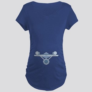 Star Trek Enterprise Maternity T-Shirt