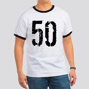 Grunge 50 Style 3 Ringer T