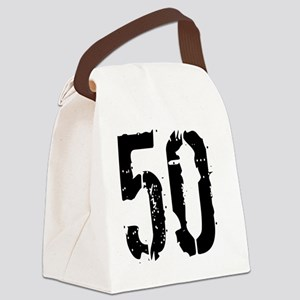 Grunge 50 Style 3 Canvas Lunch Bag