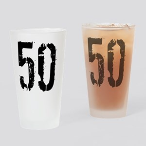 Grunge 50 Style 3 Drinking Glass
