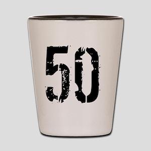 Grunge 50 Style 3 Shot Glass