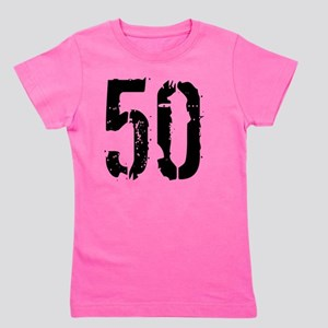 Grunge 50 Style 3 Girl's Tee