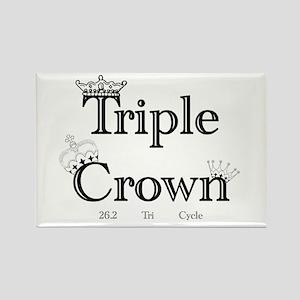 Triple Crown Rectangle Magnet