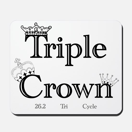 Triple Crown Mousepad