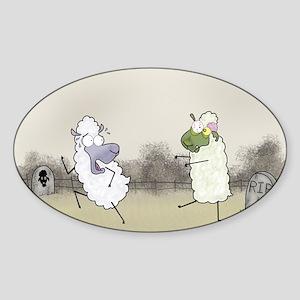 Zombie Sheep Sticker
