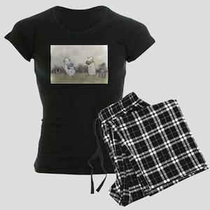 Zombie Sheep Women's Dark Pajamas