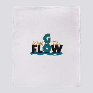 Go With the Flow Throw Blanket