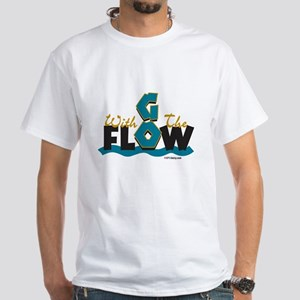 Go With the Flow White T-Shirt