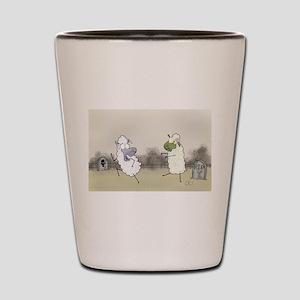 Zombie Sheep Shot Glass