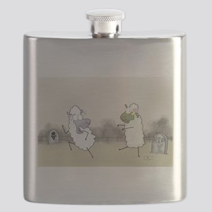 Zombie Sheep Flask