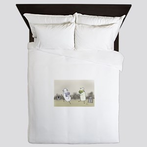 Zombie Sheep Queen Duvet