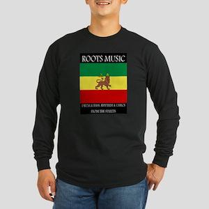 Roots-Music-Flag-Ethiopia-iPad Long Sleeve T-Shirt