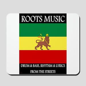 Roots-Music-Flag-Ethiopia-iPad Mousepad