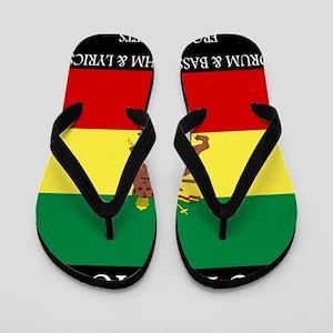 Roots-Music-Flag-Ethiopia-iPad Flip Flops