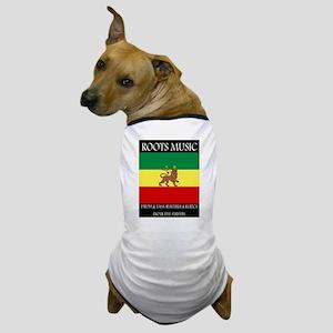 Roots-Music-Flag-Ethiopia-iPad Dog T-Shirt