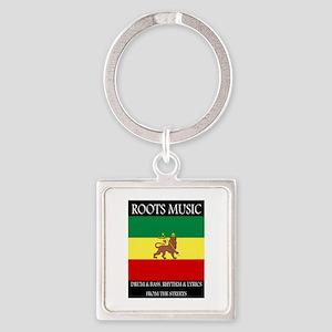 Roots-Music-Flag-Ethiopia-iPad Keychains