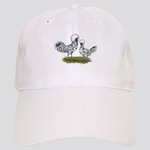Polish Splash Chickens Baseball Cap