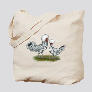 Polish Splash Chickens Tote Bag