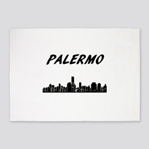 Palermo Skyline 5'x7'Area Rug