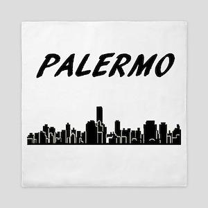 Palermo Skyline Queen Duvet