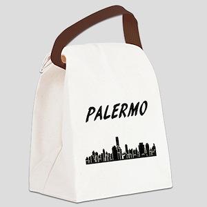 Palermo Skyline Canvas Lunch Bag