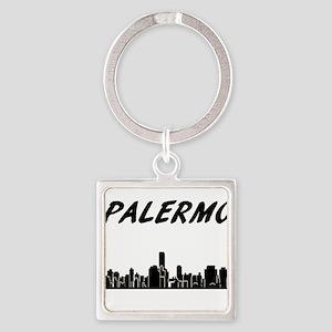 Palermo Skyline Keychains