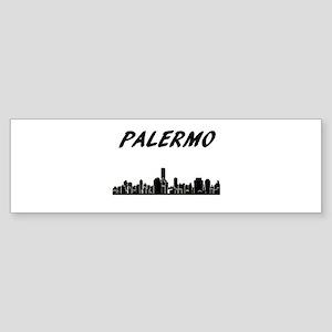 Palermo Skyline Bumper Sticker