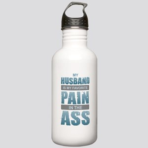 Husband - Pain in the Stainless Water Bottle 1.0L