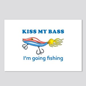 KISS MY BASS Postcards (Package of 8)