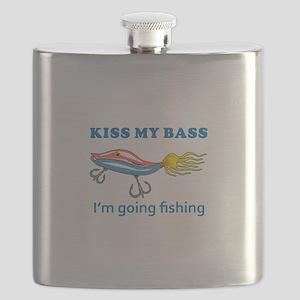 KISS MY BASS Flask