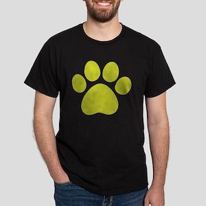 dog paw 13  Dark T-Shirt