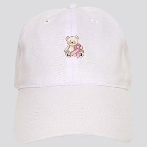 FIGHT CANCER BEAR Baseball Cap