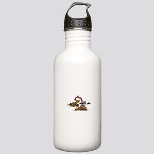 3 PC. HEAVY EQUIPMENT Water Bottle