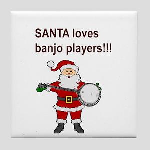 Bluegrass and old time banjo! Tile Coaster