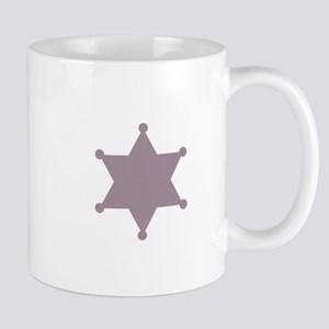SHERIFF BADGE Mugs