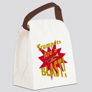 Trumpets are a BLAST! Canvas Lunch Bag