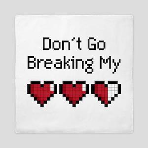 Don't Go Breaking my hearts Queen Duvet