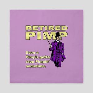 RETIRED PIMP Queen Duvet