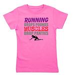 Running Drops Pounds Muscles Drop Panties Girl's T