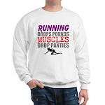 Running Drops Pounds Muscles Drop Panties Sweatshi
