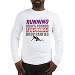 Running Drops Pounds Muscles Drop Panties Long Sle