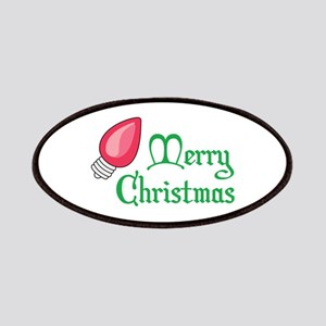 CHRISTMAS LIGHT BULB Patches