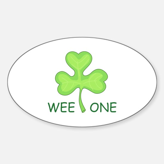WEE ONE CLOVER Decal