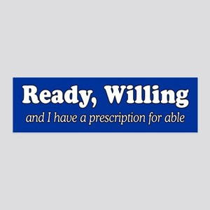 PRESCRIPTION FOR ABLE 36x11 Wall Decal