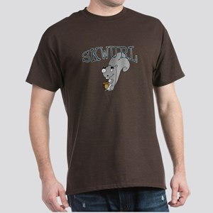 Silly Skwurl (squirrel) Dark T-Shirt