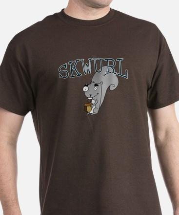 Silly Skwurl (squirrel) T-Shirt